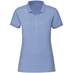 textil Mujer Polos manga corta Russell 566F Azul