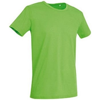 textil Hombre Camisetas manga corta Stedman Stars Stars Verde Flash