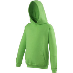 textil Niños Sudaderas Awdis JH01J Verde lima
