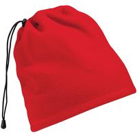 Accesorios textil Gorro Beechfield Suprafleece Rojo