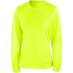 textil Mujer Camisetas manga larga Spiro S254F Verde lima