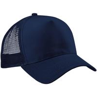 Accesorios textil Hombre Gorra Beechfield B640 Azul Marino/Azul Marino