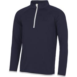 textil Hombre Sudaderas Awdis JC031 Marino French/ Blanco ártico