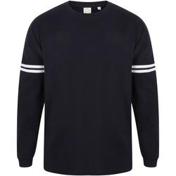 textil Hombre Camisetas manga larga Skinni Fit Slogan Azul/marino