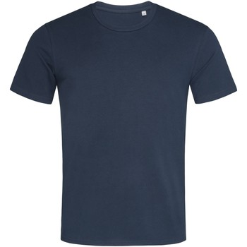 textil Hombre Camisetas manga corta Stedman  Azul marina