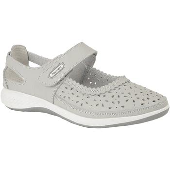 Zapatos Mujer Bailarinas-manoletinas Boulevard Wide Fit Gris Claro