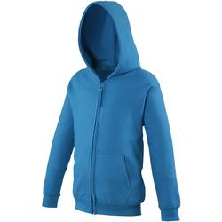 textil Niños Sudaderas Awdis JH50J Azul zafiro