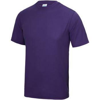 textil Niños Camisetas manga corta Awdis JC01J Púrpura