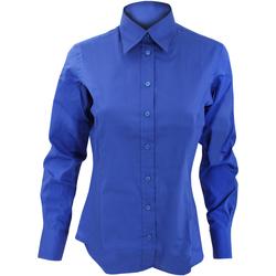 textil Mujer Camisas Kustom Kit KK702 Azul eléctrico