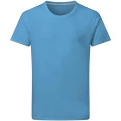 textil Hombre Camisetas manga corta Sg Perfect Turquesa