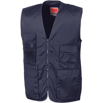 textil Hombre Chaquetas de punto Result R45X Marino medianoche