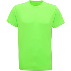 textil Hombre Camisetas manga corta Tridri TR010 Verde Rayo