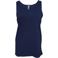 textil Mujer Camisetas sin mangas Bella + Canvas CA3480 Azul real