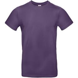 textil Hombre Camisetas manga corta B And C TU03T Morado Radiante