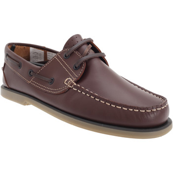 Zapatos Hombre Zapatos náuticos Dek  Piel marrón