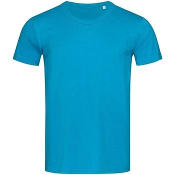 textil Hombre Camisetas manga corta Stedman Stars Stars Azul Hawaii