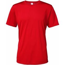 textil Hombre Camisetas manga corta Gildan 46000 Rojo Escarlata Deportivo