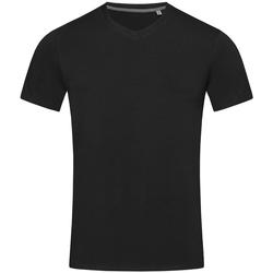 textil Hombre Camisetas manga corta Stedman Stars Clive Negro ópalo