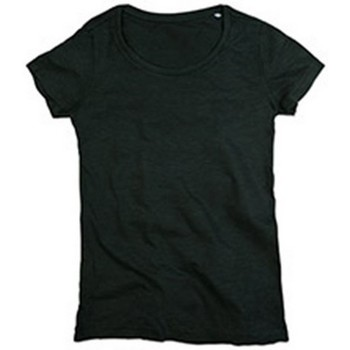textil Mujer Camisetas manga corta Stedman Stars Sharon Negro ópalo