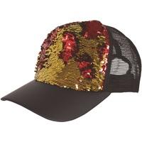 Accesorios textil Gorra Bristol Novelty  Dorado/Rojo