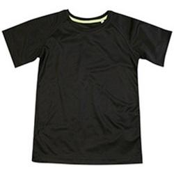 textil Niños Camisetas manga corta Stedman  Negro ópalo