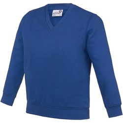 textil Niños Sudaderas Awdis AC03J Azul intenso