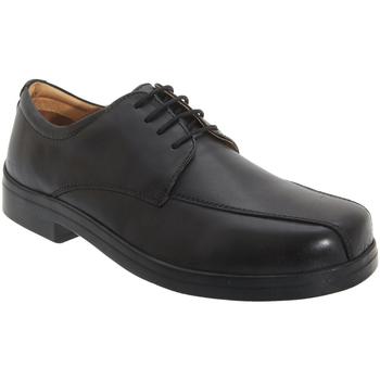 Zapatos Hombre Derbie Roamers Tramline Negro