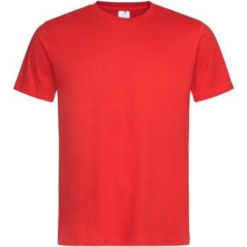 textil Hombre Camisetas manga corta Stedman Stars  Rojo Escarlata
