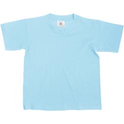 textil Niños Camisetas manga corta B And C Exact Azul cielo