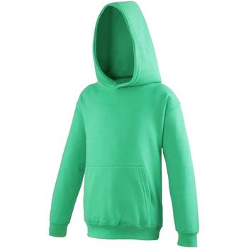 textil Niños Sudaderas Awdis JH01J Verde césped