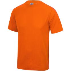textil Niños Camisetas manga corta Awdis JC01J Naranja Eléctrico