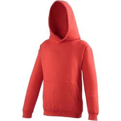 textil Niños Sudaderas Awdis JH01J Rojo intenso