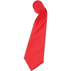 textil Hombre Corbatas y accesorios Premier Satin Rojo fresa