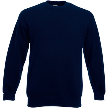textil Hombre Sudaderas Fruit Of The Loom 62202 Marino Intenso