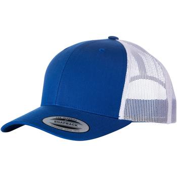 Accesorios textil Gorra Yupoong  Azul Real Fuerte/Blanco