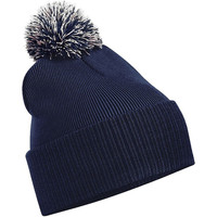 Accesorios textil Niña Gorro Beechfield Snowstar Azul marino/gris claro
