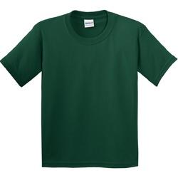 textil Niños Camisetas manga corta Gildan 5000B Verde oscuro