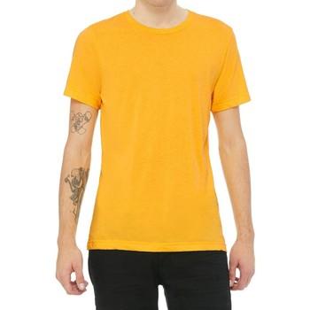 textil Hombre Camisetas manga corta Bella + Canvas CA3413 Amarillo Oro Triblend