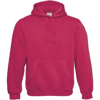 textil Hombre Sudaderas B And C WU620 Rosa sorbete