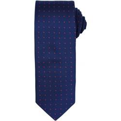 textil Hombre Corbatas y accesorios Premier Dot Pattern Marino/rojo