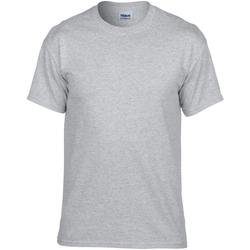 textil Hombre Camisetas manga corta Gildan DryBlend Gris Sport