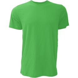 textil Hombre Camisetas manga corta Bella + Canvas CA3001 Verde Kelly
