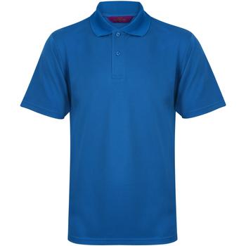 textil Hombre Polos manga corta Henbury HB475 Azul medio