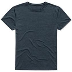 textil Hombre Camisetas manga corta Stedman  Marina Jaspeado