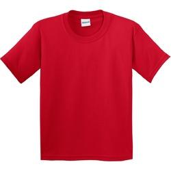 textil Niños Camisetas manga corta Gildan 64000B Rojo