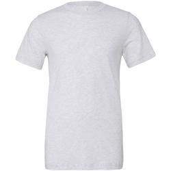 textil Hombre Camisetas manga corta Bella + Canvas CA3413 Blanco Fleck Triblend