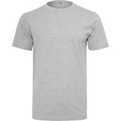 textil Hombre Camisetas manga corta Build Your Brand BY004 Gris