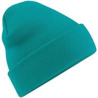 Accesorios textil Hombre Gorro Beechfield Soft Feel Verde esmeralda