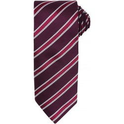 textil Hombre Corbatas y accesorios Premier  Granate/berenjena