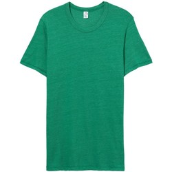 textil Hombre Camisetas manga corta Alternative Apparel AT001 Verde True Eco